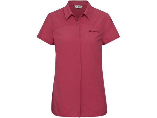VAUDE Skomer II Camiseta manga corta Mujer, red cluster